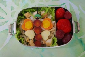 Butterfly Bento ~ How Cute is That!