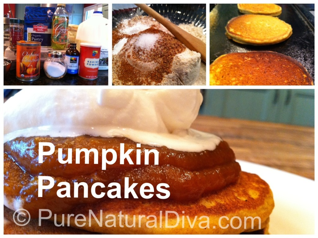 Pumpkin Pancake Recipe