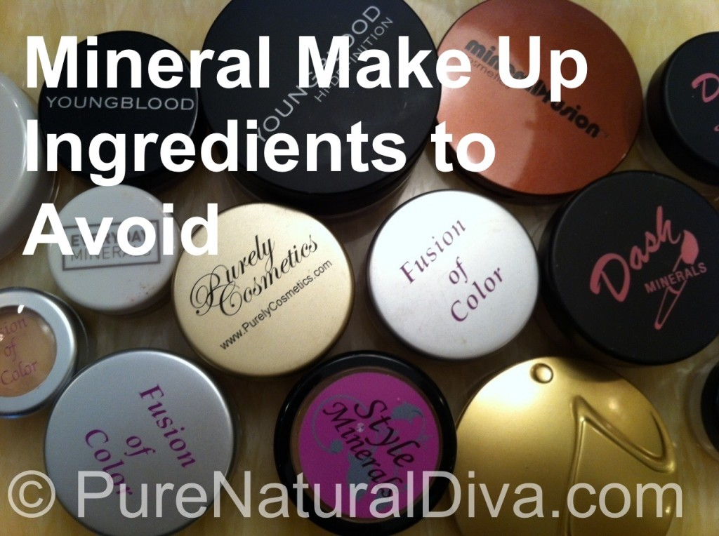 Mineral Make Up Ingredients