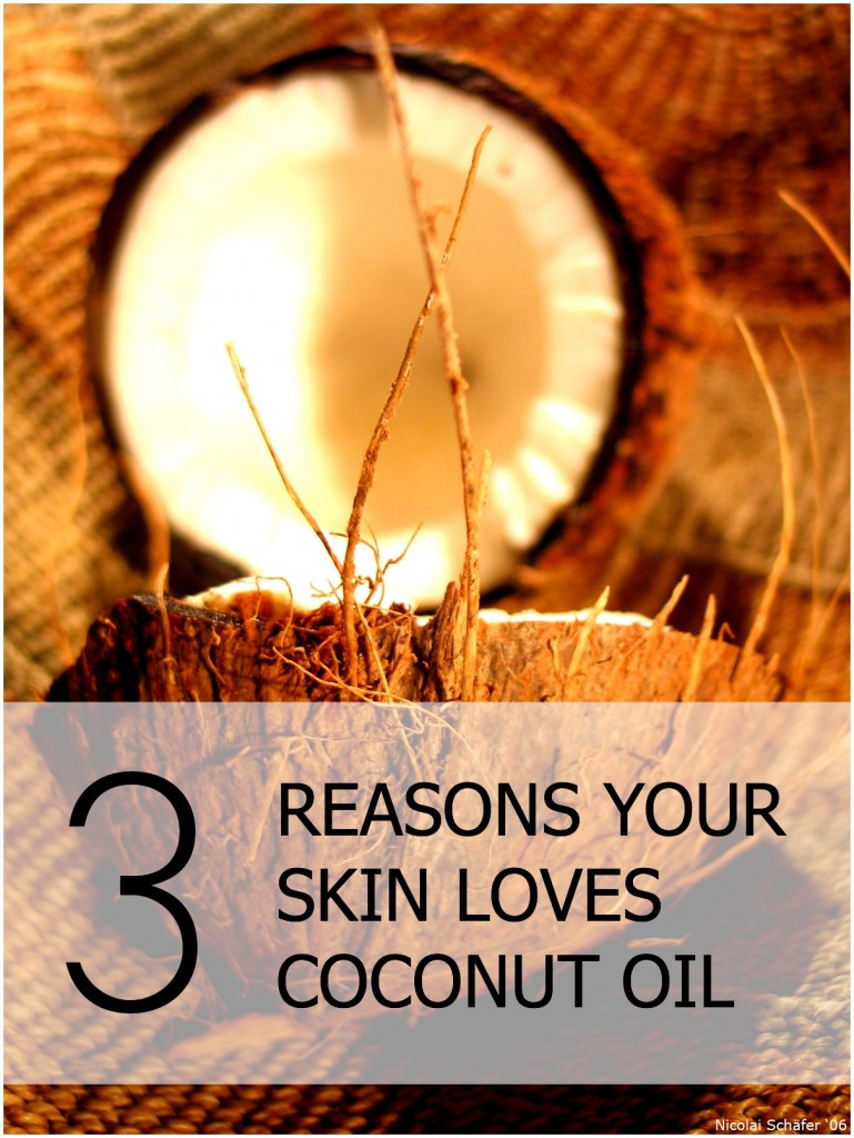 Benefits of coconut oil for skin
