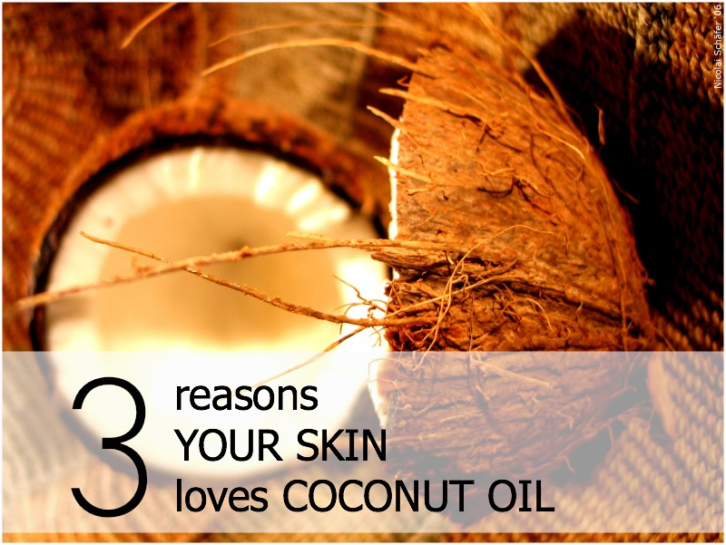 Benefits of Coconut Oil for Skin Horizontal