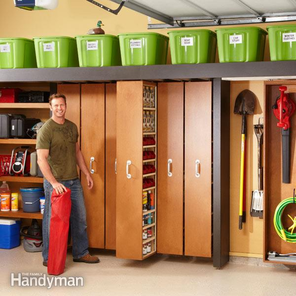 I M Glad I Exist Small Space Solutions: Organized Garage